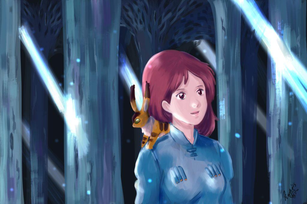 Nausicaa  fanart